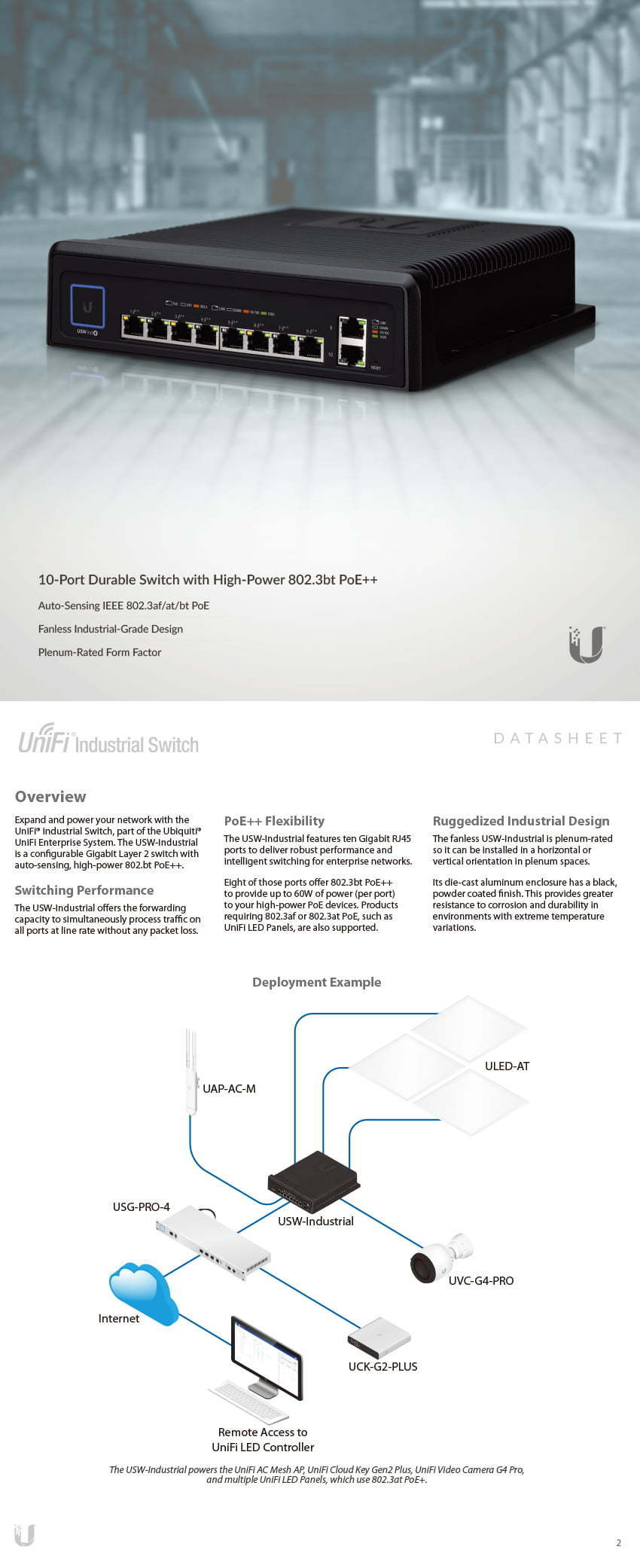 UniFi Switch Industrial 8